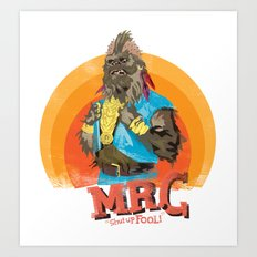 Mr.C Art Print