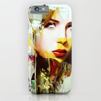iPhone Cases featuring Femme Fatal by Ganech joe