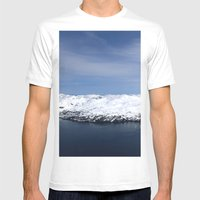 Whitter, Alaska Mens Fitted Tee White SMALL
