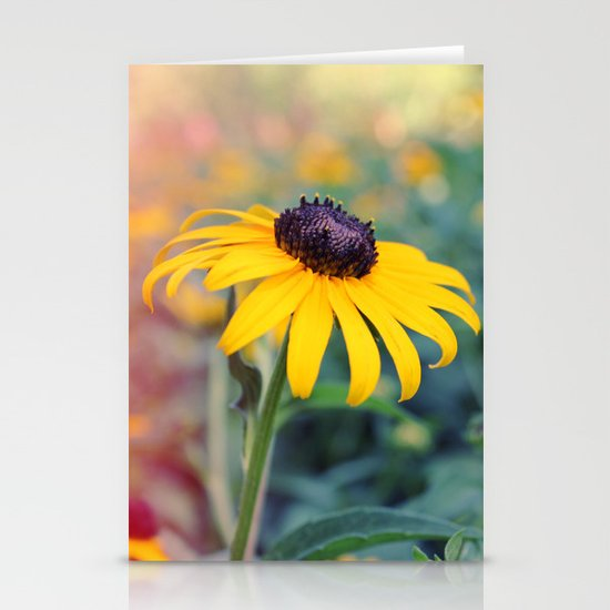 Flower series 04 Stationery Card