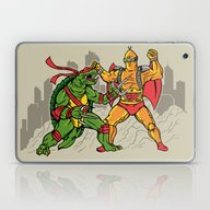 Teenage Mutant Gamera Ni… Laptop & iPad Skin