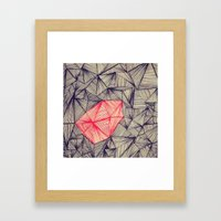 Lines On Lines Framed Art Print