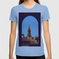 .because through it all, there is color. Womens Fitted Tee Athletic Blue SMALL