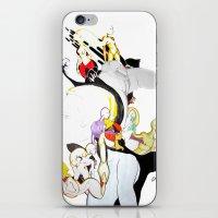 AROUND MY MIND iPhone & iPod Skin
