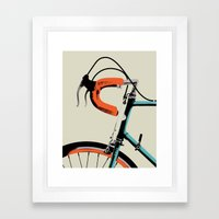 Bike Portrait 2 Framed Art Print