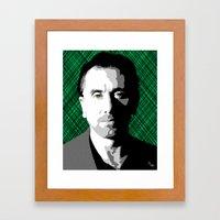 Tim Roth Framed Art Print