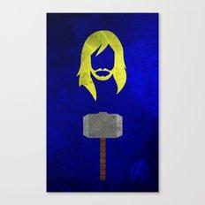 Thor: Avengers Movie Variant Canvas Print