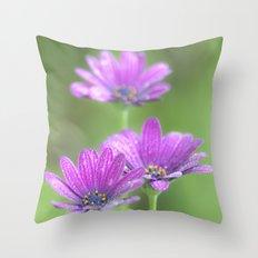 Comos Flowers Throw Pillow