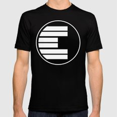 Envisioned SMALL Mens Fitted Tee Black