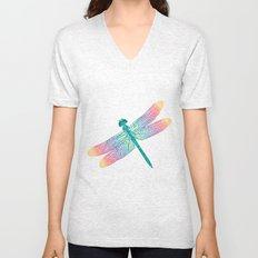 dragonfly v1 Unisex V-Neck
