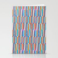 Pastel photographic and digital pattern Stationery Cards
