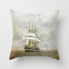 The Kruzenshtern Throw Pillow