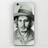 Johnny Deep iPhone & iPod Skin