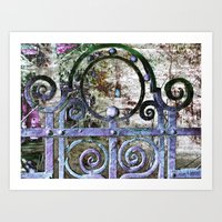 The MAGIC Gate! Art Print