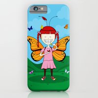 i heart butterflies iPhone 6 Slim Case