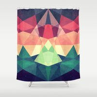 Looking at stars Shower Curtain