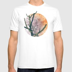 Rebirth Mens Fitted Tee White SMALL