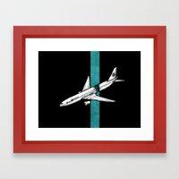 Flight 815 Framed Art Print