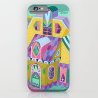 iPhone & iPod Case featuring Yellow House by Valeriya Volkova