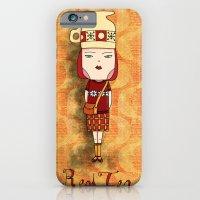 Red Tea Girl iPhone 6 Slim Case
