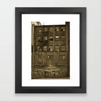woodwards Framed Art Print