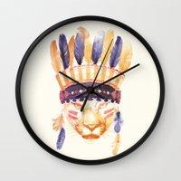 Big Chief Wall Clock