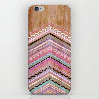 Purple Chevron Wild iPhone & iPod Skin