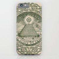 In Block We Trust (Green… iPhone 6 Slim Case