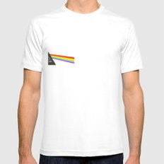 light side of the heidi White Mens Fitted Tee SMALL
