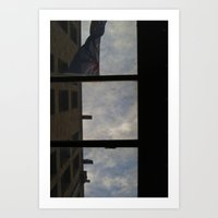 Up There Art Print