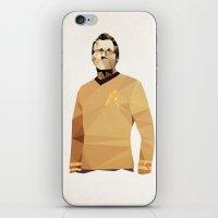 Polygon Heroes - Kirk iPhone & iPod Skin