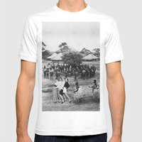 Jambo's Mambo Mens Fitted Tee White SMALL
