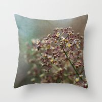 In The Garden  - JUSTART… Throw Pillow