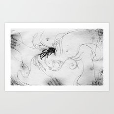 B33-DR34M5 (Bee Dreams) Art Print