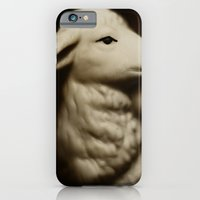 iPhone & iPod Case featuring Tom Feiler Lamb by Tom Feiler