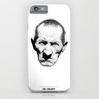 iPhone & iPod Case featuring Mr. Grumpy by Tom Kitchen