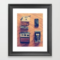 Cameras Framed Art Print