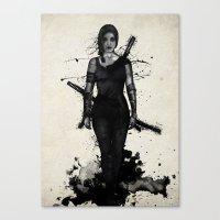 Onna Bugeisha Canvas Print