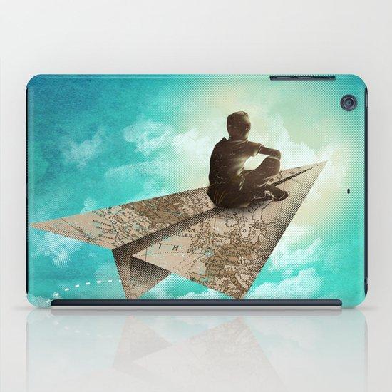 Paper Aeroplane iPad Case