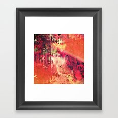 The Past Always Seems Brighter Upon Reflection Framed Art Print