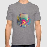 Sunrise Mens Fitted Tee Tri-Grey SMALL
