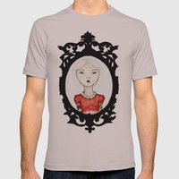 Just a portrait Mens Fitted Tee Cinder SMALL