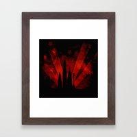 COLLAGE LOVE: Street Lif… Framed Art Print