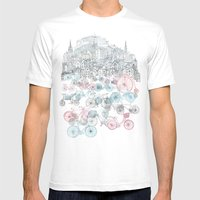 Old Town Bikes Mens Fitted Tee White SMALL
