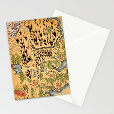Johto Map Stationery Cards