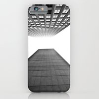 iPhone & iPod Case featuring Downtown Winnipeg by khammyp