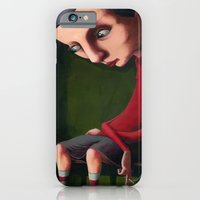 iPhone & iPod Case featuring Girl in the Box by Jeff Szuc