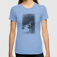 Whiteout Yosemite-2 Womens Fitted Tee Athletic Blue SMALL