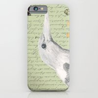Gray Kingfisher iPhone 6 Slim Case