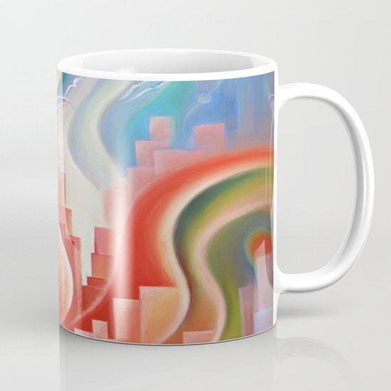 Hibiscus City Mug